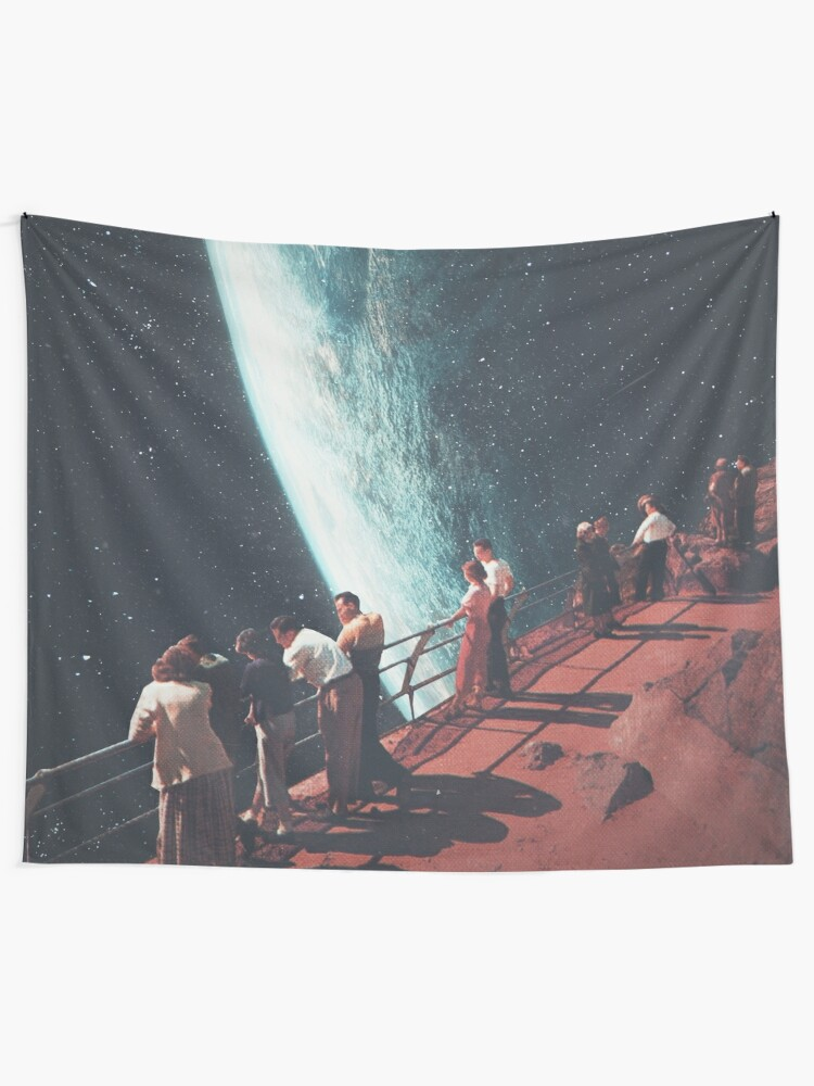 Alternate view of Missing the ones we Left Behind Tapestry