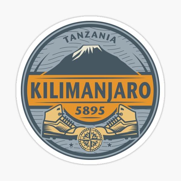 Kilimanjaro, Tanzania Sticker