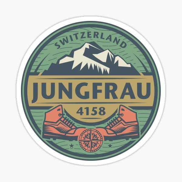 Jungfrau, Switzerland Sticker