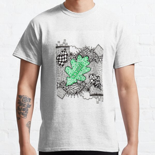 Nature - Doodle Drawing Classic T-Shirt
