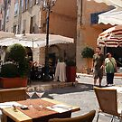 A Place To Eat In Grasse by Fara