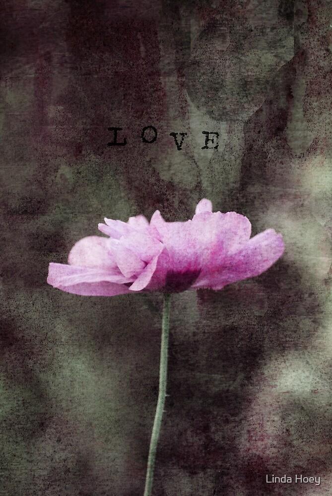 Flower Love 1 by Linda Hoey