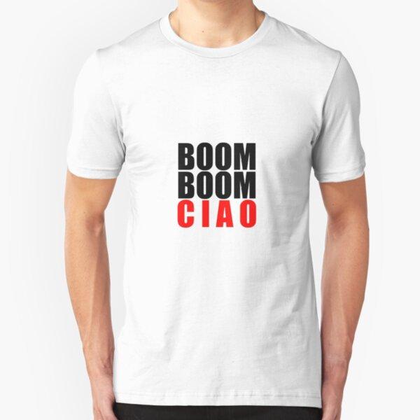 Boom Boom Ciao  Slim Fit T-Shirt