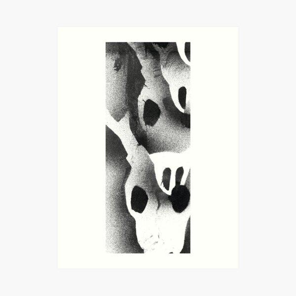 Deer Skull Print (Type 2) Art Print