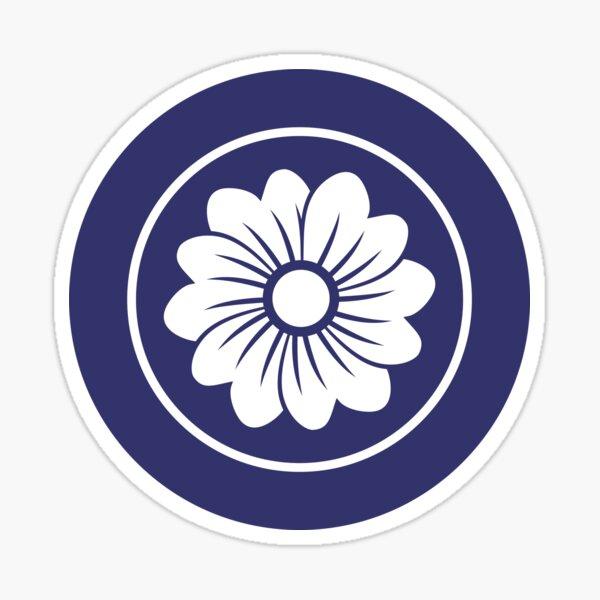 6 petals Kamon Sticker