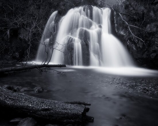 Fairy Glen Waterfall by Tim Haynes