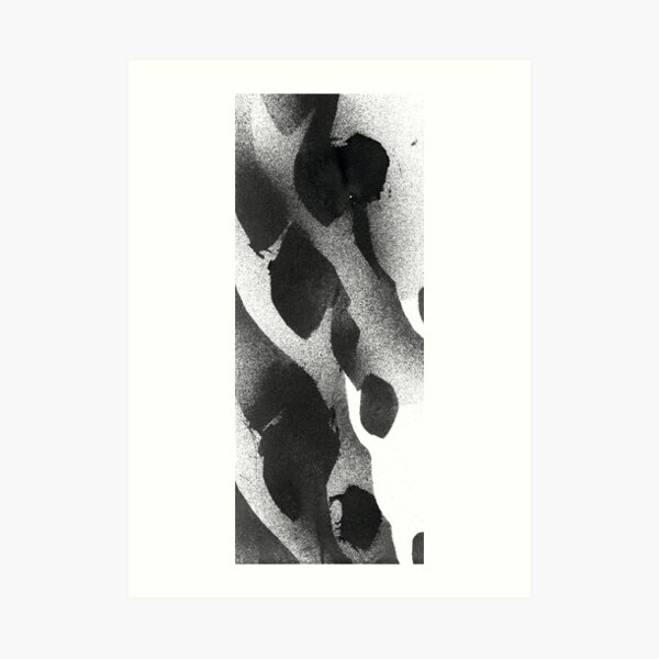 Deer Skull Print (Type 3) Art Print