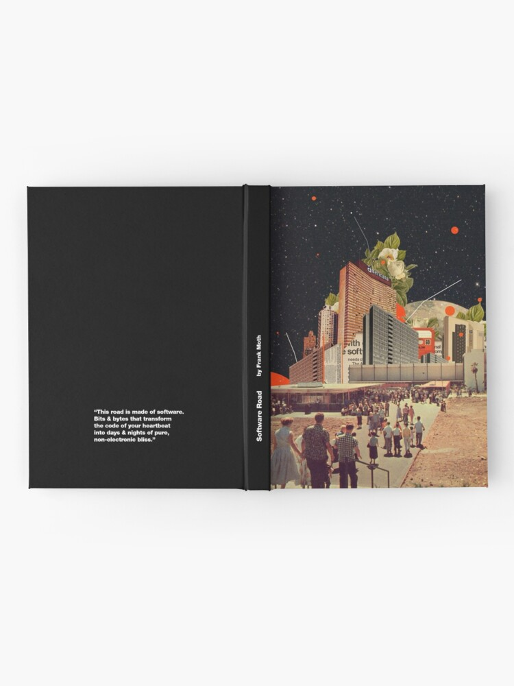 Alternate view of Software Road Hardcover Journal