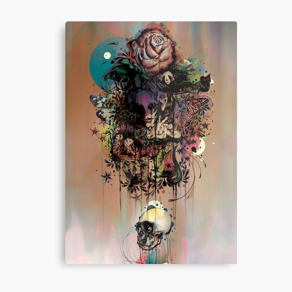 Fauna and Flora Metal Print