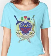 It's dangerous to go alone! Women's Relaxed Fit T-Shirt
