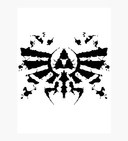 Hyrule Rorschach Photographic Print
