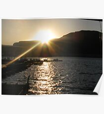 Lake Mead Sunrise Poster