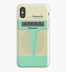Vintage Transistor Radio - Impala Aged iPhone Case/Skin