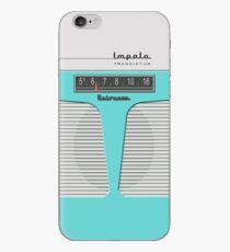 Vintage Transistor Radio - Impala Aqua iPhone-Hülle & Cover