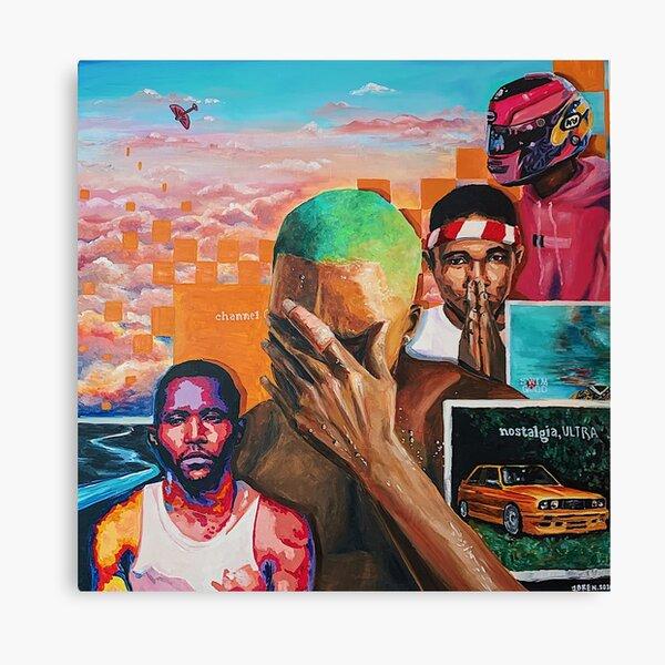 Frank Ocean Collage Impression sur toile