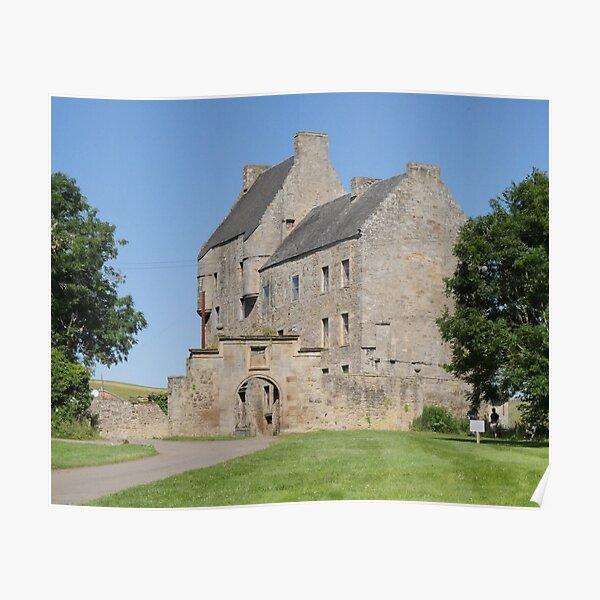 Midhope Castle , Hopetoun estate , near Edinburgh , Scotland Poster