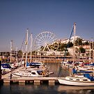 Torquay Harbour and Big Wheel by Jay Lethbridge