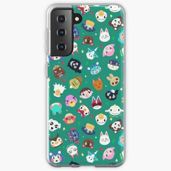 Animal Crossing Coque souple Samsung Galaxy