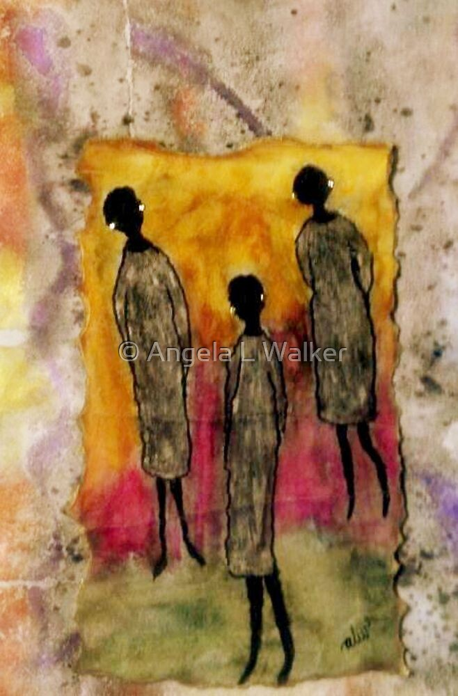 Just the THREE of Us by © Angela L Walker