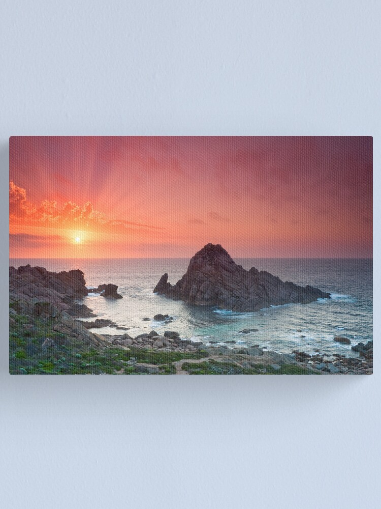 Alternate view of Sugarloaf Rock Canvas Print