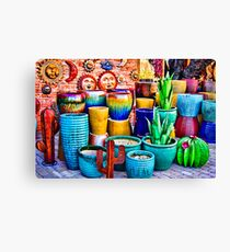 Rumba Of Colors . Canvas Print