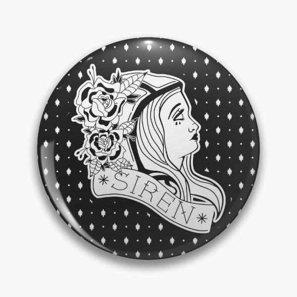 Maya (tatouage noir et blanc) Badge