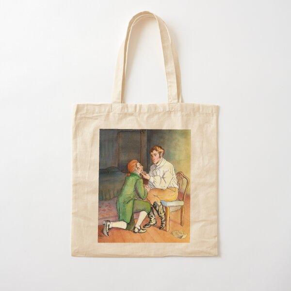 A Gentleman's Position Cotton Tote Bag