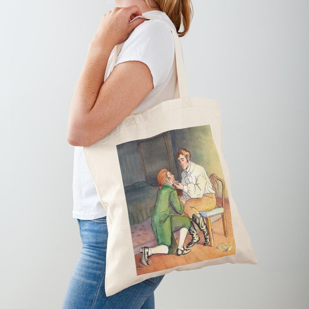 A Gentleman's Position Tote Bag