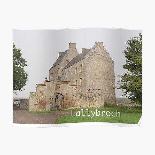 Midhope Castle , near Edinburgh , Scotland Poster