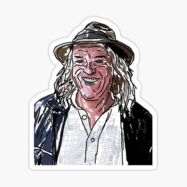 Phil Harding of the Time Team Sticker
