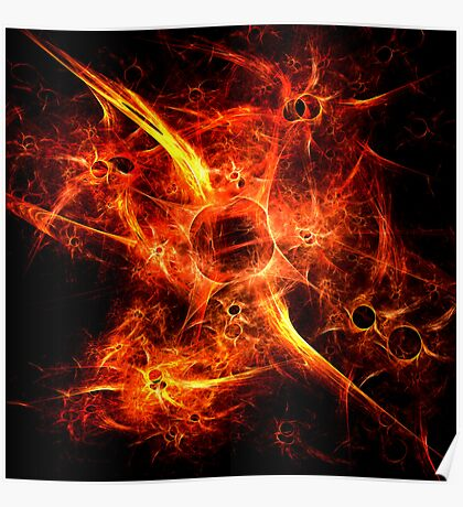 Fiery Fires Poster