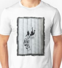 Trolley Girl Fall Unisex T-Shirt