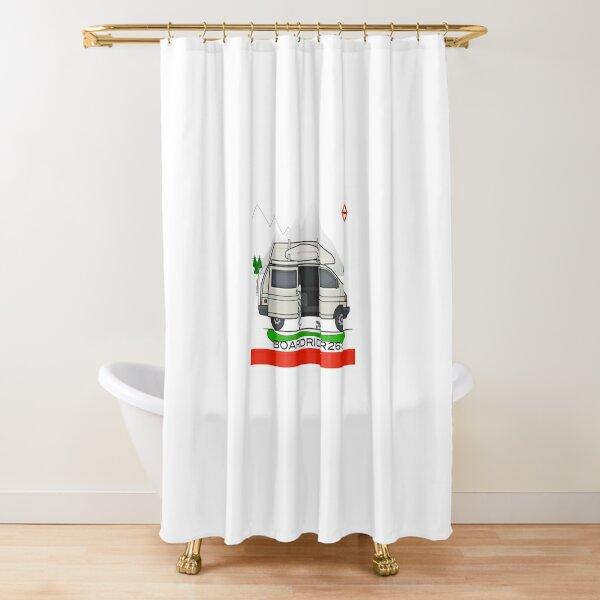Boardrider268 campervan Shower Curtain