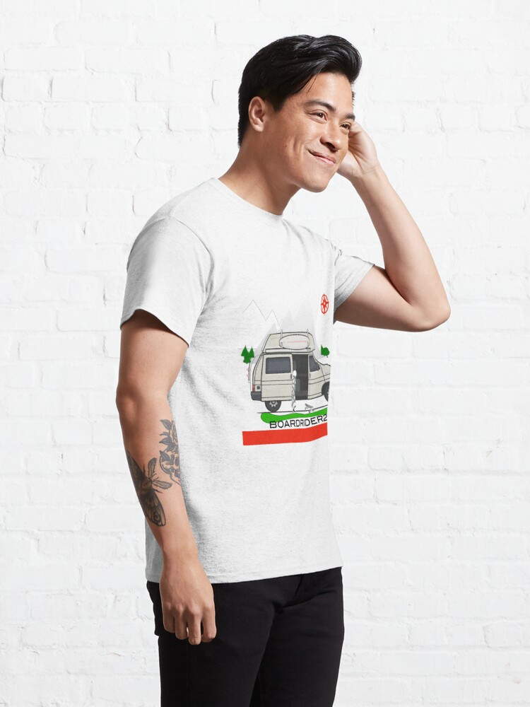 Alternate view of Boardrider268 campervan Classic T-Shirt
