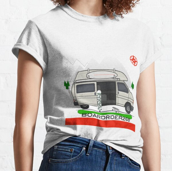 Boardrider268 campervan Classic T-Shirt