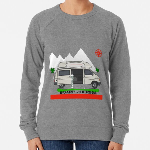 Boardrider268 campervan Lightweight Sweatshirt