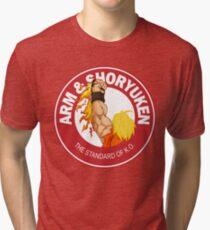 Arm & Shoryuken. The Standard of K.O. Tri-blend T-Shirt