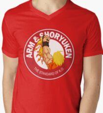 Arm & Shoryuken. The Standard of K.O. Mens V-Neck T-Shirt