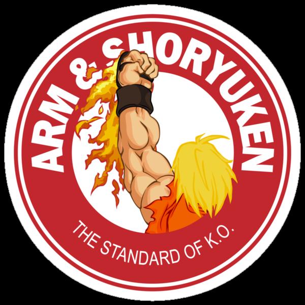 Arm & Shoryuken. The Standard of K.O. by D4N13L