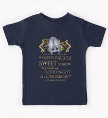 Shakespeare Romeo & Juliet Sweet Sorrow Quote Kids Tee