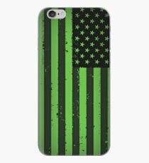 American idiot flag- Green Day iPhone Case