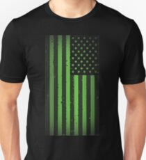 American idiot flag- Green Day T-Shirt