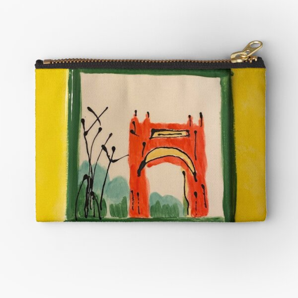 Arch in the Park Zipper Pouch