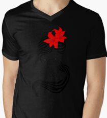 Flower Power 2 Mens V-Neck T-Shirt