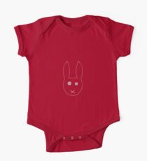 Handstitched pinkeyed bunny  Kids Clothes