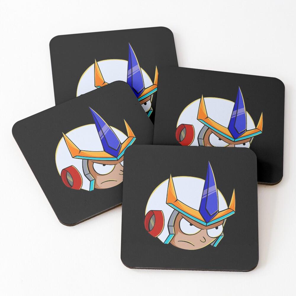 rick and morty samurai Coasters (Set of 4)