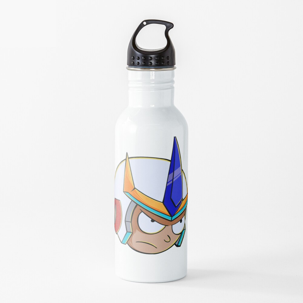rick and morty samurai Water Bottle