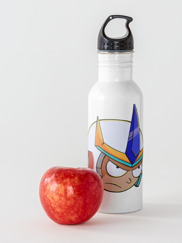 Alternate view of rick and morty samurai Water Bottle