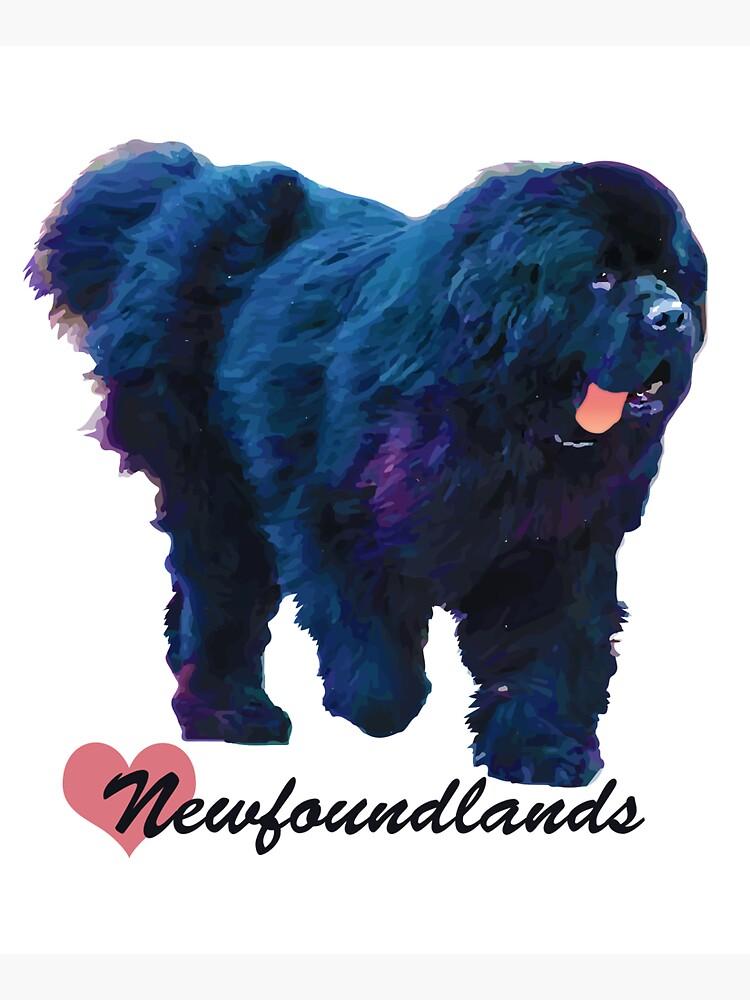 I Love Newfoundlands by itsmechris