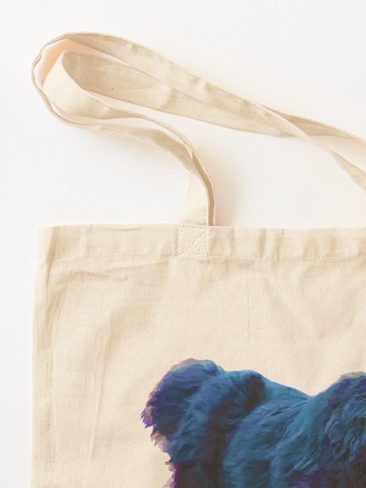 Alternate view of I Love Newfoundlands Tote Bag